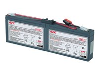APC Replacement Battery Cartridge #18 - Batería de UPS - 1 x Ácido de plomo - negro - para PowerStack 450VA RBC18