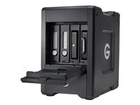 G-Technology G-SPEED Shuttle with ev Series Bay Adapter GSPSTH3ESBEB200004BBB - Orden unidad de disco duro - 20 TB - 4 compartimentos - HDD 10 TB x 2 - Thunderbolt 3 (externo) 0G10142