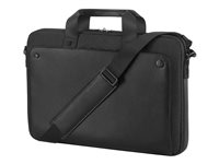 "HP Executive Midnight Top Load - Funda de transporte para portátil - 15.6"" - negro - para Chromebook 11 G6, 14 G5; EliteBook 10XX G1; EliteBook x360; ProBook 650 G4; ZBook 15u G5 1KM15AA"