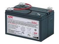APC Replacement Battery Cartridge #3 - Batería de UPS Ácido de plomo - negro - para Back-UPS 450, 600, 600C, 600VA, 650M, 650MI, 650VA; PowerCell Network RBC3