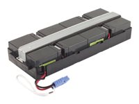 APC Replacement Battery Cartridge #31 - Batería de UPS - 1 x Ácido de plomo - para Smart-UPS On-Line 1000XLI, 2000XLI RBC31